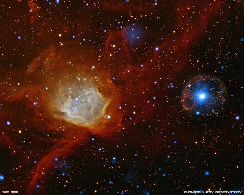 Pulsar in Chandra